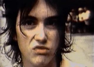 Underground film actress Lung Leg in Death Valley 69 music video still
