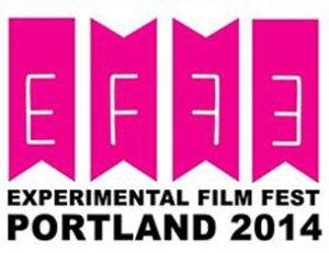 Flag logo for the Experimental Film Festival Portland
