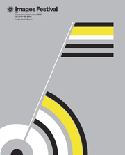 Film festival poster featuring abstract images
