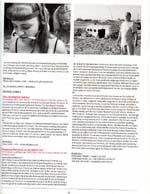 Film festival program scan with photo of Salton Sea
