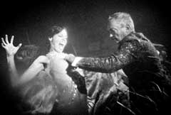 Still from Guy Maddin's Hauntings with Udo Kier
