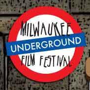 Film festival logo that looks like a London underground sign