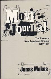 Cover to Jonas Mekas's book Movie Journal