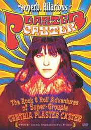 DVD cover featuring a photo of a young Cynthia Plaster Caster