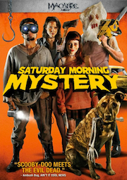 DVD cover art for Saturday Morning Mystery