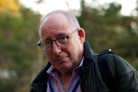 Portrait of film historian Sheldon Renan