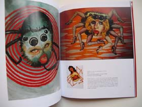 Spiders in Love pages in Colburn book