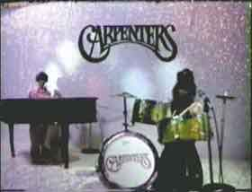 Barbie dolls staged as the band The Carpenters