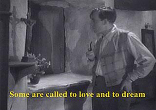Classic film still from Das Blaue Licht by Leni Riefenstahl