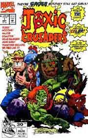 Toxic Crusaders Marvel comic