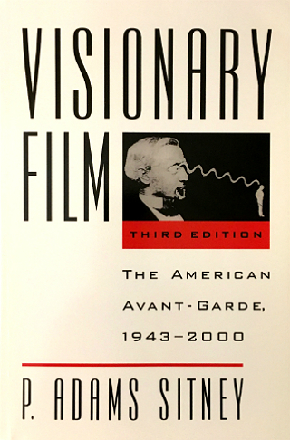 Cover to Visionary Film third edition by P. Adams Sitney
