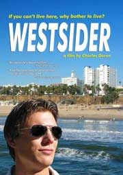 DVD cover featuring a snobby man in Los Angeles