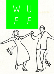 Film festival poster of two people dancing