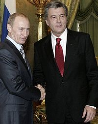Putin and Yushchenko led negotiations that prevented a gas shutoff to Ukraine - from unian.net