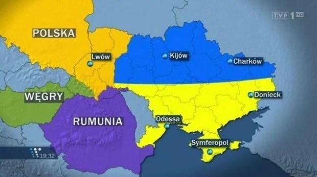 Жириновський запропонував Польщі розділити Україну /  TVP1