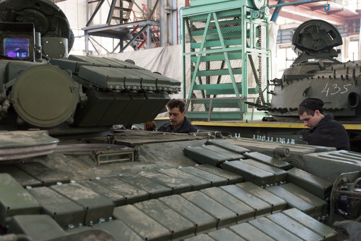 Ukraine S T 64 Tank Tested Before Being Transferred To Army Photo Video