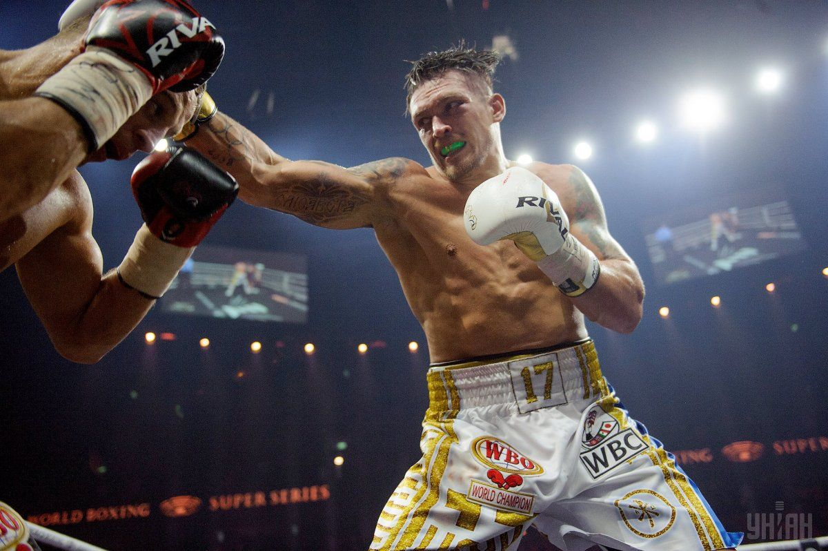 Ukraine S Usyk Decisions Latvia S Briedis In Riga To Unify Wbc Wbo Titles Photos