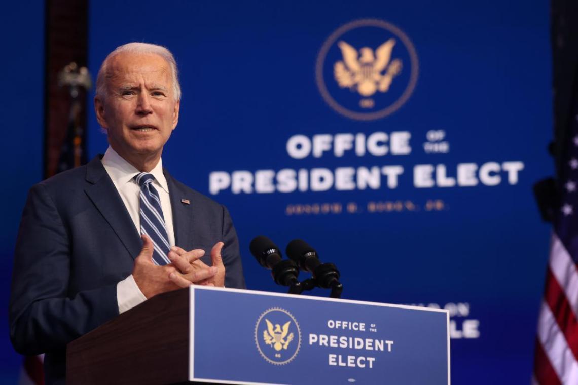 Джо Байден готовит основу для своей новой администрации / фото REUTERS