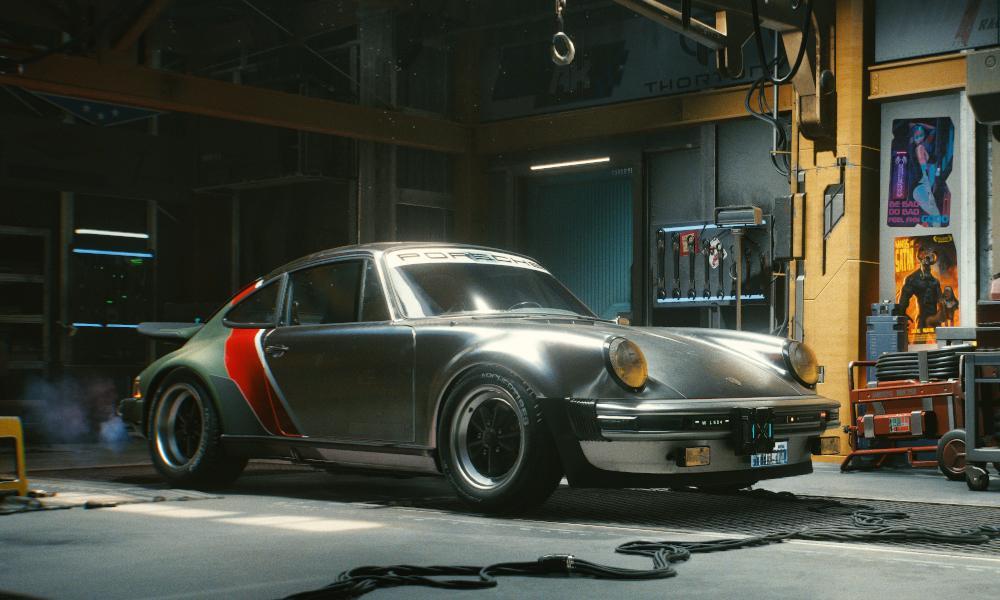 Легендарная машина Джонни Сильверхенда - она будет доступна в игре / фото CD Projekt RED