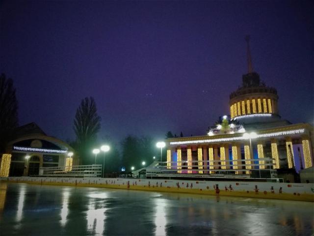 Ковзанка на ВДНГ / фото Марина Григоренко