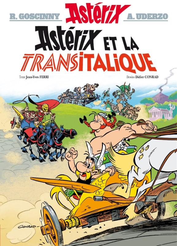 Capa de Astérix et la Transitalique