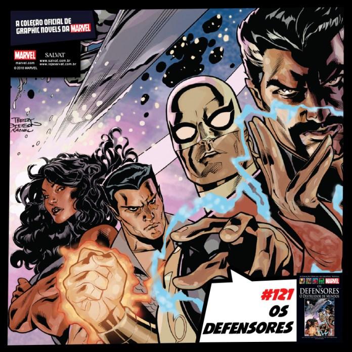 Coleção Oficial de Graphic Novels Marvel - Volume 121 - Os Defensores - O Destruidor de Mundos