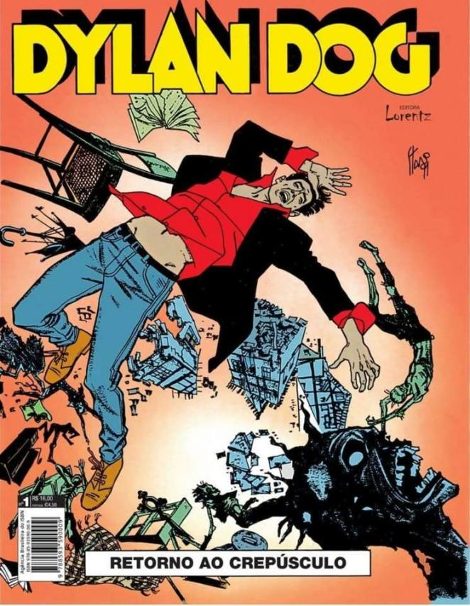 O retorno de Dylan Dog do crepúsculo | Críticas | Revista Ambrosia