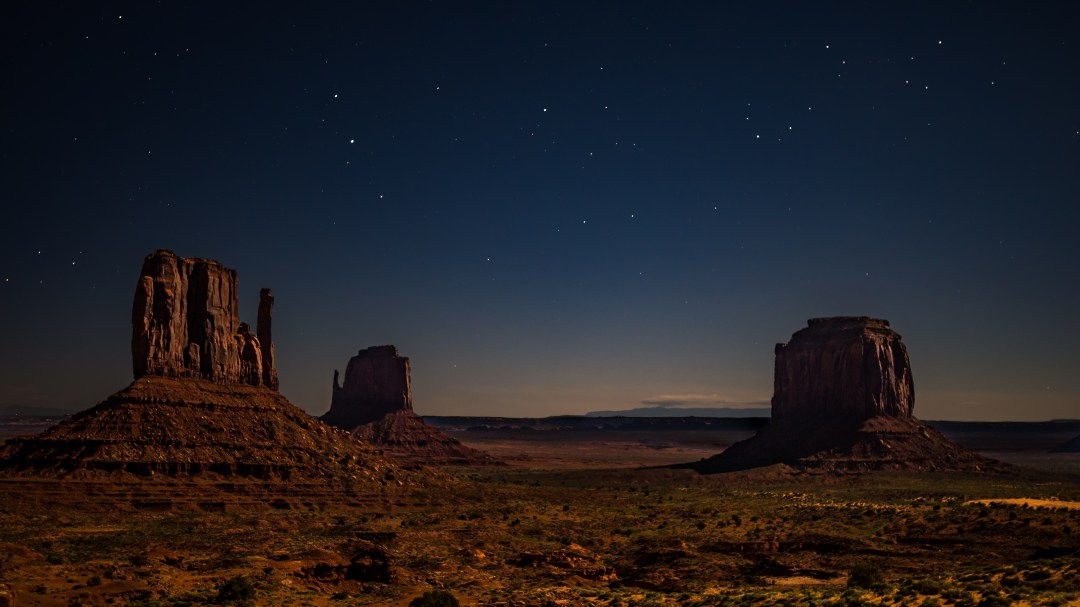 Monument Valley Moonlight Photo By Lovely Shots