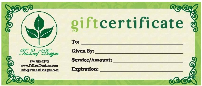 Business Gift Certificates Uprinting Com
