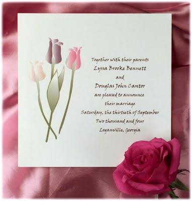 Winter Wonderland Plantable Wedding Invitation