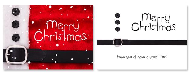Christmas Postcard Sample
