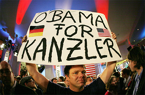 In Germany - Obama for Chancellor