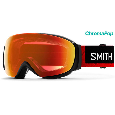 Smith I/O Mag S Goggles - Women's Tnf Red/cpop Red W/storm Rose