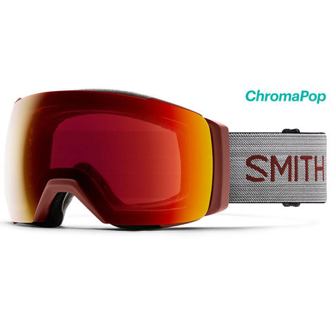 Smith I/O Mag XL Goggle Oxide/cpop Red W/storm Rose