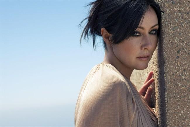 Shannen Doherty la Brenda Walsh di Beverly Hills 90210 (Foto Kurt Iswarienko)