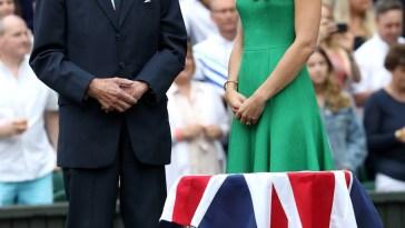 Kate Middleton e la prima apparizione pubblica a Wimbledon dopo l'isolamento