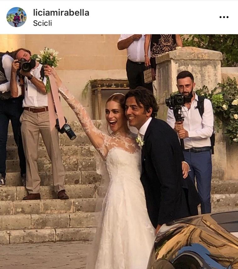 Miriam Leone e Paolo Carullo, matrimonio a Scicli: «Una felicità indescrivibile!!!