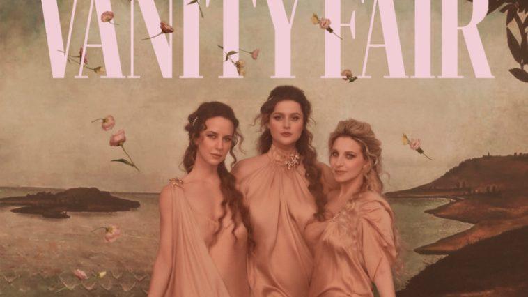 Katia Follesa, Michela Giraud e Caterina Guzzanti come Veneri di Botticelli