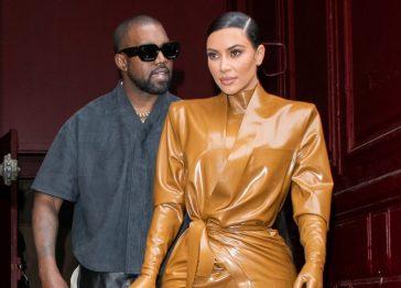 Kanye West che canta la crisi matrimoniale con Kim Kardashian