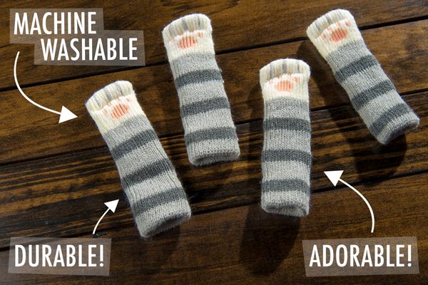 Durable, machine washable, and adorable!