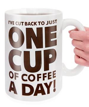 Gigantic Coffee Mug