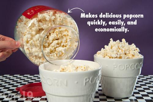 microwave popcorn popper economical