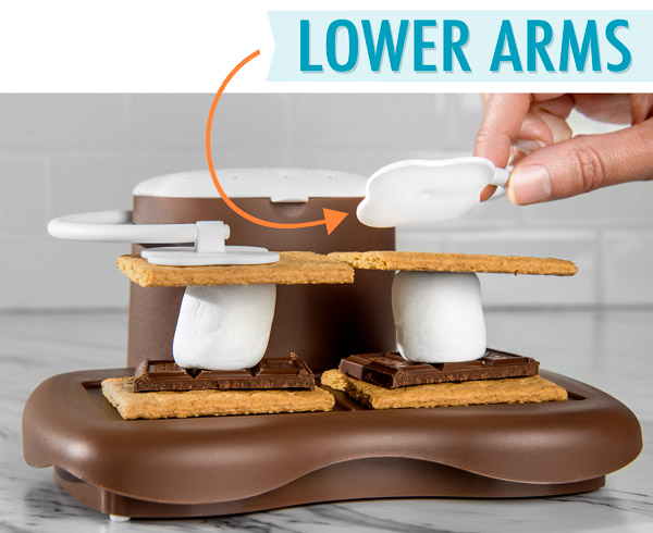 microwave s mores maker make delicious s mores indoors in seconds