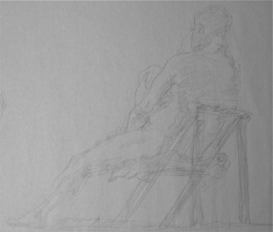 art croquis de nus rapides hommes et femmes