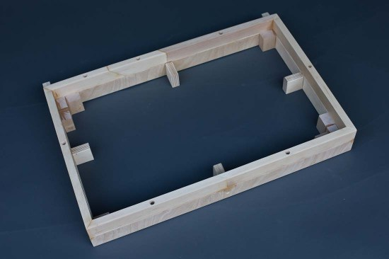 Angle 1 - Frame to create plenum and hold egg crate/filter sandwich