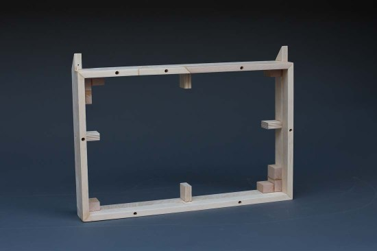 Angle 2 - Frame to create plenum and hold egg crate/filter sandwich