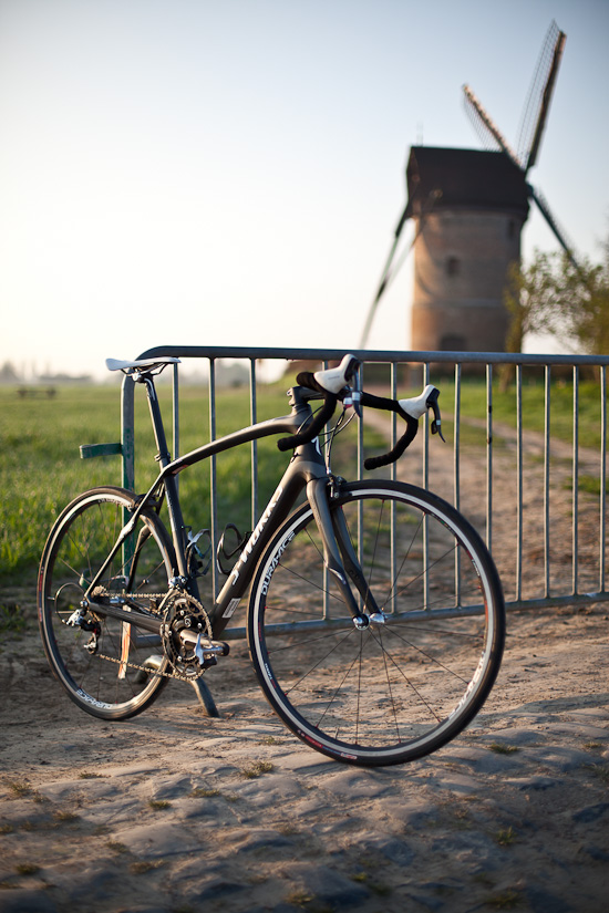 The Roubaix in its element