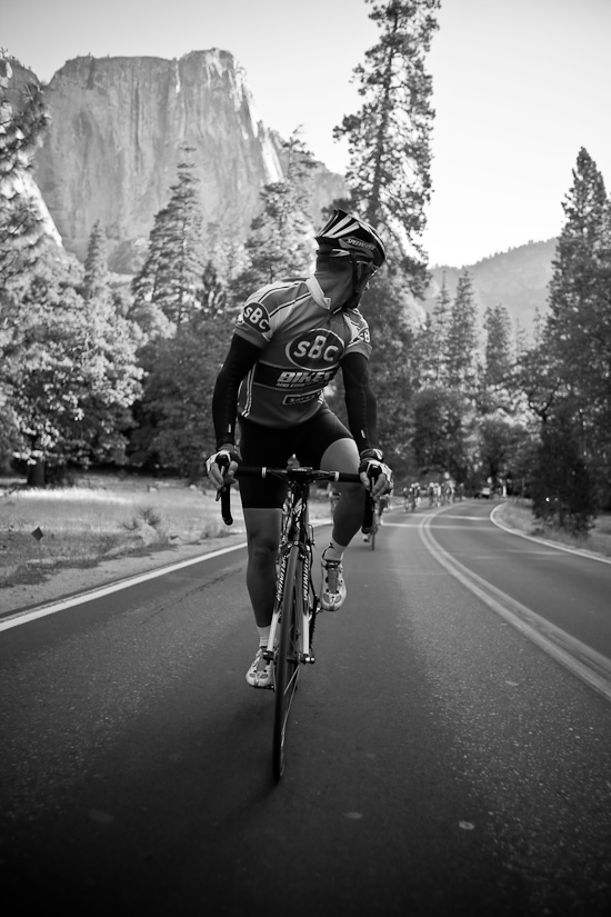Riding out Yosemite Valley