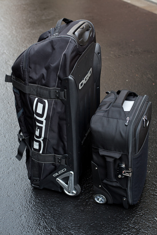 The Airport International V2 and Ogio's Tanker 9600