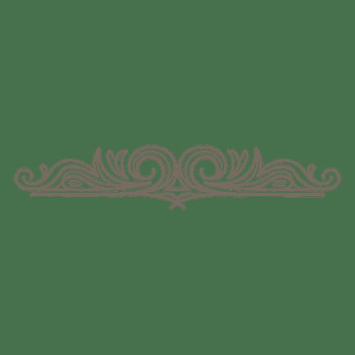 Decorative Swirls Divider Transpa Png